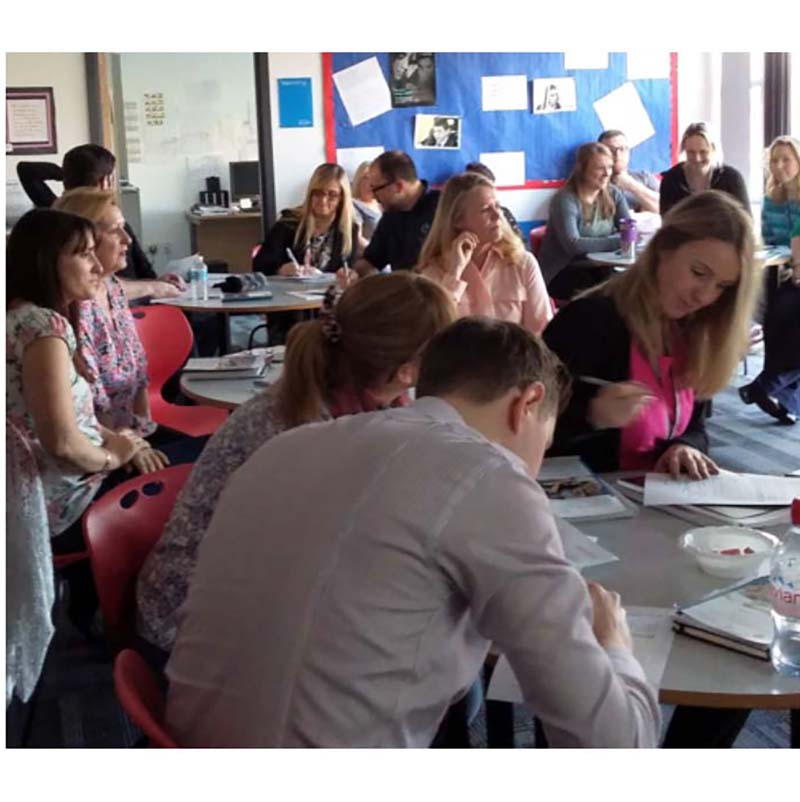 Teacher training sessions - full morning or afternoon session