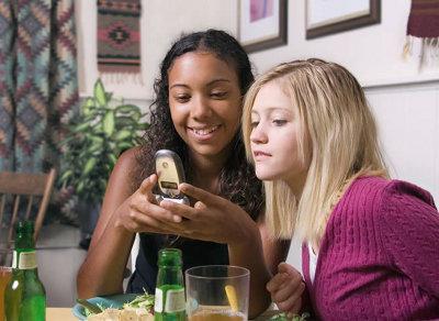 Teens drinking