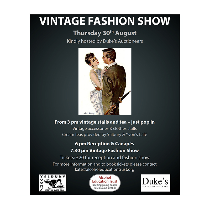 Vintage Fashion Show Tickets